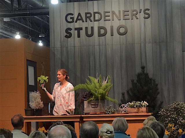 container design lecture presentation Philadelphia flower show 2017