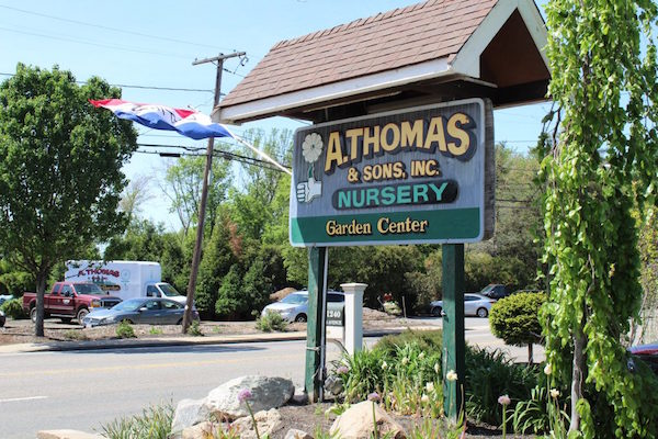 a. thomas garden center, milton, ma
