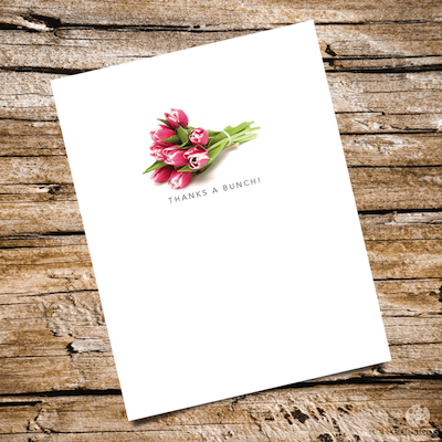 gardener themed notecards: