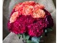 Fall-arrangement-roses