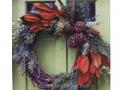 Magnolia-and-pinecone-wreath