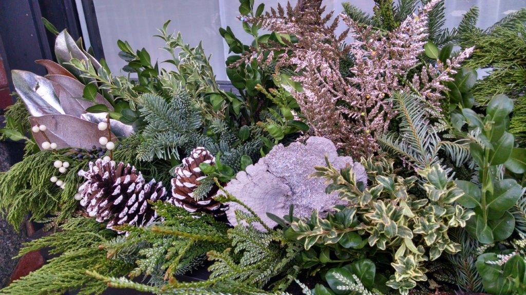 winter design window box garden seasonal